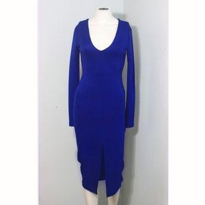 Cassia Royal Blue Dress